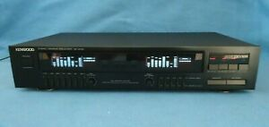 Kenwood GE-4030 Stereo Graphic Equalizer Spectrum Analyzer, Japanese, See Video!