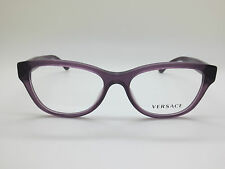 8bf7ac9dc96a NEW Authentic VERSACE Mod. 3204 5029 Purple 51mm RX Eyeglasses