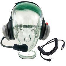 Crew Radio Headset w/ Baofeng or Kenwood Coil Cord
