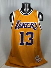 70c77aec293 WILT CHAMBERLAIN LOS ANGELES LAKERS RETRO MITCHELL   NESS JERSEY ADULT 2XL