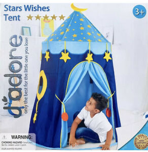 Star Wishes Tent By Jadore Includes Storage Bag- Simple To Assemble Age 3+