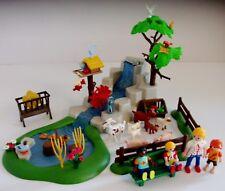 Playmobil Waterfall with Animal and Figures Bundle