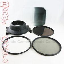 Camdiox 145mm Filter Holder Adapter Kit for Sigma 12-24mm f/4.5-5.6 II HSM Lens
