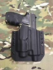 Black Kydex Holster Sig Sauer P226R MK25 Threaded Barrel Streamlight TLR-2