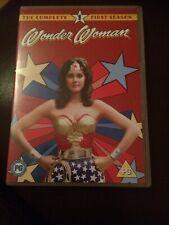 Wonder Woman: Season 1 DVD (2005) Lynda Carter cert PG Vgc