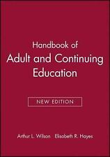 Handbook of Adult and Continuing Education (2000, Paperback)