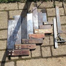 More details for job lot vintage woodworkers set squares. old woodworking tools.
