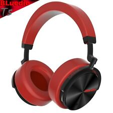 Bluedio T5 Bluetooth Cordless Headphones Stereo Active Noise Cancellation, Mic
