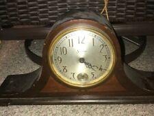 Vintage Sessions Mantle Clock Wood