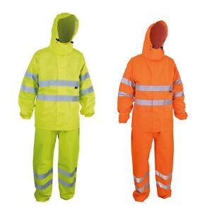 Regenanzug Warnschutz Arbeitskleidung Regenkleidung Regenjacke Regenhose