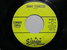 Cowboy Copas 45 1961 Sunny Tennessee / Dreaming EX + Starday 552