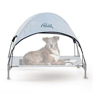 "K&H Pet Products Pet Cot Canopy Large Gray 30"" x 42"" x 7"""