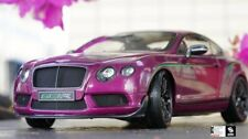 Car Model Almost Real Bentley Continental GT3-R 2015 Limited 1:18 (Purple) +GIFT