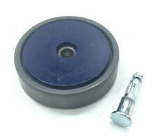 Shark NV360 NV360K Vacuum LEFT or RIGHT WHEEL ASSEMBLY W/ PIN Blue Genuine OEM