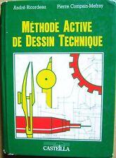 Méthode active de dessin technique métiers de la mécanique du bois /H22