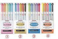 ZEBRA MILDLINER Soft Color Double-Sided Highlighter marker, 5 / 15 /20 Color set