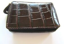 Brighton B WISHES  Mini Jewelry case- rectangular- brown-perfect for charms