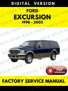 Repair Manuals Literature For 2000 Ford Excursion For Sale Ebay