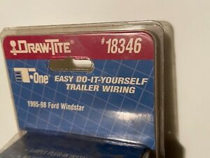 Draw-Tite 18346 Trailer Connector Kit, 1995-1998 FORD WINDSTAR,  NEW