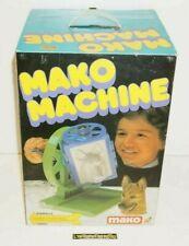 ++ ancien jouet MAKO MACHINE / moulage d'animaux 1979 NEUF jamais déballé ++