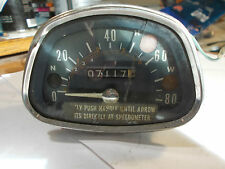 USED; Vintage Honda Nippon Speedometer, (Not sure what Model it comes off of.)