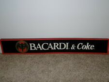 "Bacardi and Coke Rubber Bar Mat 23"" long"
