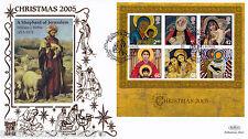 NATALE 2005 (foglio in miniatura) - Benham GOLD (500) UFFICIALE