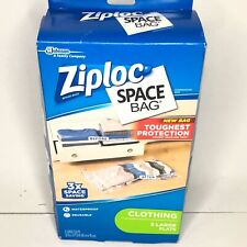 ZIPLOC Space Bag Clothing 3 Large Flats