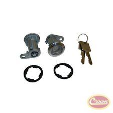 Door Cylinder Kit (2 Cylinders w/ Keys) - Crown# 8122874K2