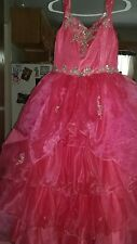 beauty pageant dress girls size 12