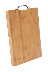 Heavy Duty Wooden Chopping Reversible Plastic Handle Cutting Board Wood Made