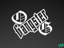OG Gangster Car Sticker Vinyl Decal Drift Rat Dub JDM Stance Original Old School