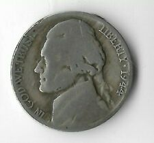 Rare Old Vintage 1944-P US Jefferson Silver War Nickel Vintage Collection Coin