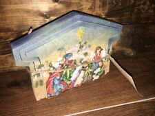 Roman Inc Wood Nativity crèche Puzzle Scene Woodworks of Inspiration