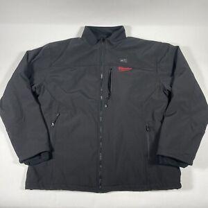 Milwaukee M12 Heated ToughShell Jacket Size XL Black (Jacket, Adapter & Manual)