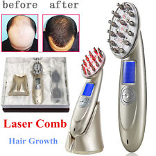 Laser Comb Hair Growth Loss Regrowth Treatment USB Charging Hair Massage Brush