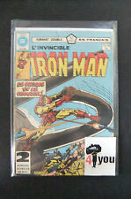 4.0 Vg Very Good Iron Man # 121 Canadian Euro Variant Ow/Cp Yop 1979