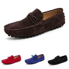 Mens Faux Leather Driving Moccasins Shoes Pumps Slip on Loafers Soft Comfy New L