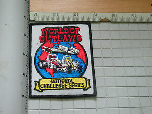World Of Outlaws Racing Patch  Sprint National Challenge Series Racing