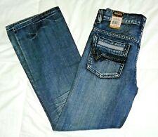 NWT Flypaper Slim Boot Distressed Jeans 12 Kids Boys 400 Dark Wash