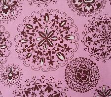 Pretty Little Things BTY Dena Designs FreeSpirit Jada Pink Brown Medallion