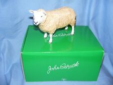 John Beswick Farmyard Series Texel Ewe Sheep JBF92 Figurine Present Gift NEW