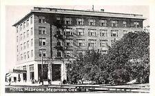 D53/ Medford Oregon Or Postcard c1910 Hotel Medford Building