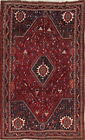 Old Tribal Geometric Oriental Nomad Collectible Home Decor Antique Carpet 5 x 8