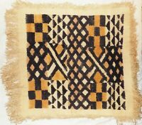 African Kuba cloth Velvet bakuba raffia Africa kv355