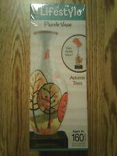 Lifestyle 3D Puzzle Vase - Autumn Trees Finished vase puzzle  Holds Water!