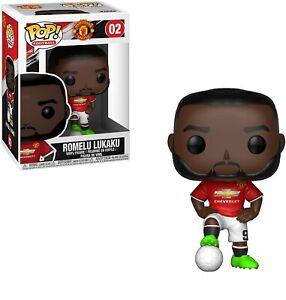 Man United Funko POP! Figure Collectable Toy - Lukaku 9 - New