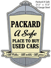 A Safe Place To Buy Packard Reproduction Laser Cut Out 17.5x21.5 Metal