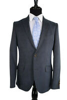 ETRO NWT Sport Coat Size 40R In Dark Teal with Brown Herringbone Accent