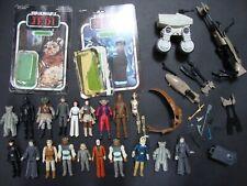 Vintage Star Wars Figures/ Cardbacks (Repro Weapons) Lot!
